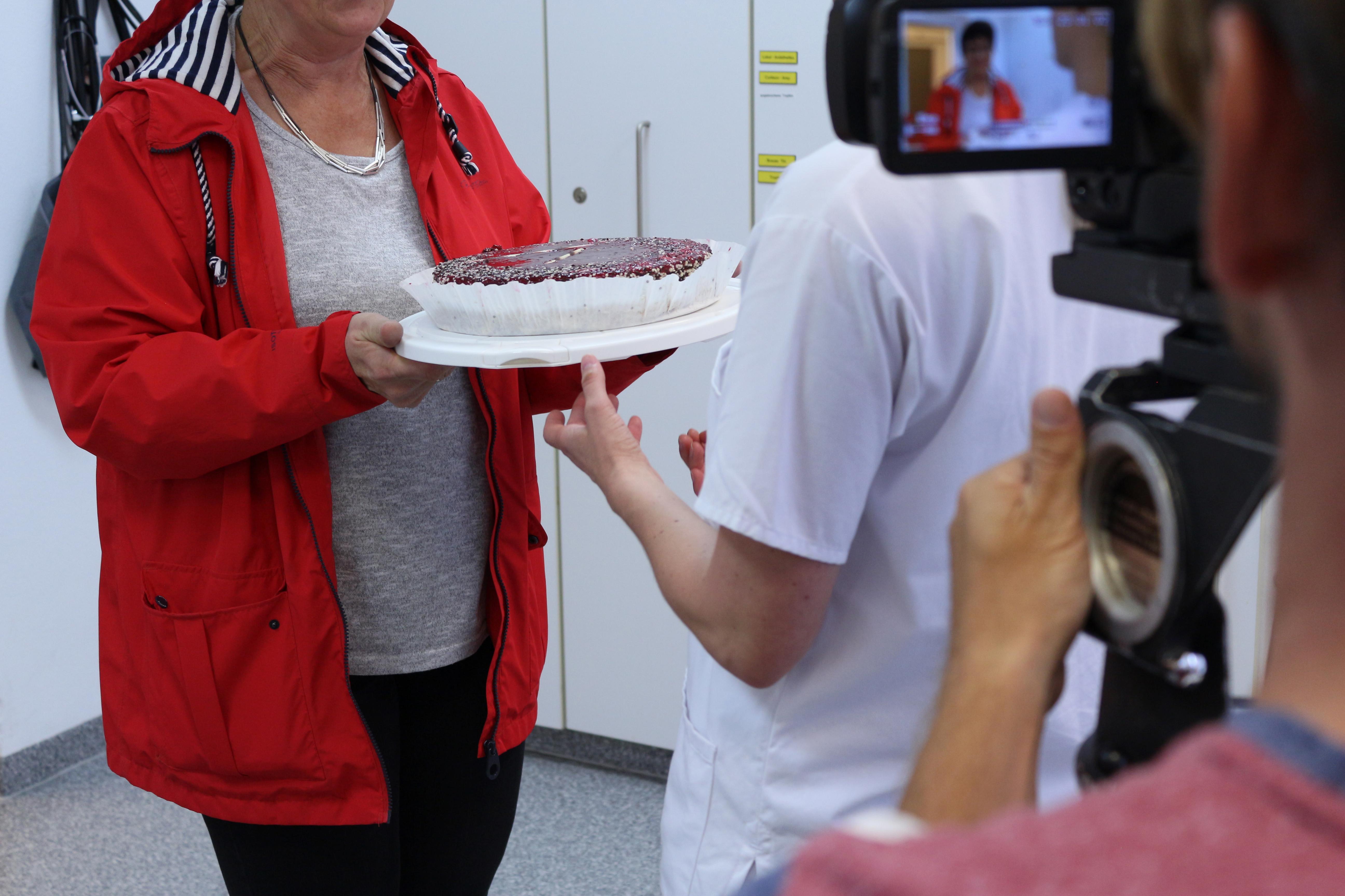 Krankenhaus Patientengeschenk Kuchen