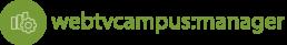 webtvcampus:manager Logo